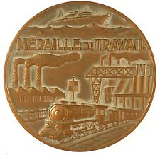 Ship industry train INDUSTRIE METALLURGIQUES DES BOUCHES DU RHONE. Bronze 59mm
