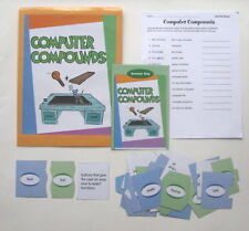 Evan Moor Vocabulary Center Learning Resource Game Computer Compounds