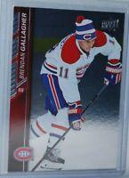 2015-16 Upper Deck Silver Foil Board #357 Brendan Gallagher Montreal Canadiens