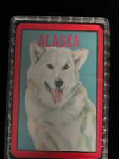 A New Set of Alaska Poker Playing Cards with Hard Plastic Holder