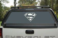 Superman Comic Logo Vinyl Decal Sticker Car Window Hood 75057z