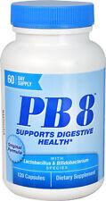 Nutrition Now, PB8, Pro-Biotic 120 Capsules, Lactobacillus & Bifidobacterium,