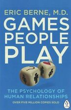 Games People Play by Eric Berne, M.D. NEW