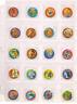 Dragon Ball Z Tazos COMPLETE SET 30/30!!  Pogs, Taps, Tazos