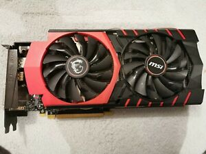 MSI NVIDIA GeForce GTX 970 (4096 MB) (GTX 970 GAMING 4G) Graphics Card