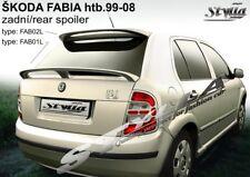 SPOILER REAR BOOT SKODA FABIA MK1 WING ACCESSORIES
