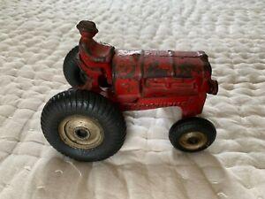Vintage Cast Iron Arcade 265 R Alliis- Chalmers Tractor