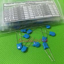DIP Ceramic capacitors 13 Value Assorted 100pF~100nF 2KV (500V) Kit 130pcs