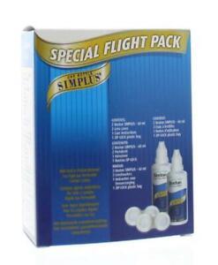 Bausch & Lomb Boston Simplus Special Flight Pack Solution Lenses 60ml X 2