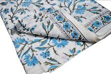 10 Yard Indian Hand block Print Running Loose Cotton Fabrics Printed Decor Art F