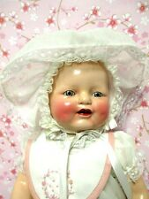 """EXCELLENT CONDITION 18 1/2"""" E.I.H. EIH HORSMAN BABY DIMPLES DOLL  NEW OUTFIT"""