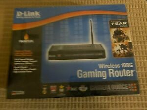 D-Link Wireless 108G Gaming Router (DGL-4300)+USB/PCI (006)