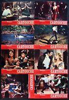 Fotobusta Cartouche Belmondo Claudia Cardinale 1 Ausgabe Italienisch 1962 R111