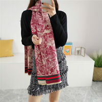 2019 New Fashion women Scarf Warm Shawl Acrylic Scarf Simple Pattern Printed