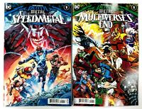DARK NIGHTS DEATH METAL SPEED METAL #1 MULTIVERSES END #1 DC 2020 - 2 COMICS SET