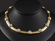 Tiffany & Co Brillant Collier Atlas ca 1,20ct 77,9g 750/- Gelbgold & 950/-Platin