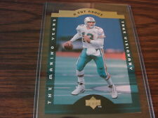 1995 Upper Deck Dan Marino # CA4 A Cut Above card Miami Dolphins