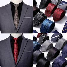 Men's Fashion Slim Tie Formal Wedding Thin Narrow Novelty Skinny Ties Necktie