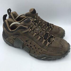 Mens Merrell Intercept Urban Dark Brown Trail Hiking Shoes Size 10.5