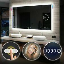 Moderne Miroir Salle De Bain Lumineux LED Illumination INTERRUPTEUR | BLUETOOTH
