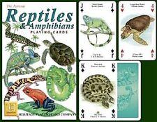 Reptiles Y Anfibios Conjunto De 52 Jugar Tarjetas + Bromistas ( Gib )