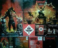 🎸 MANOWAR - CD Sammlung , Poster 🎸