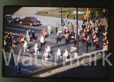 1961 Kodachrome photo slide Indianapolis IN parade  #7 Majorette Baton Twirlers