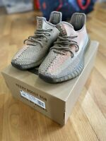 ADIDAS YEEZY  BOOST 350 V2 Sand Taupe FZ5240 100% AUTHENTIC Men's size 10