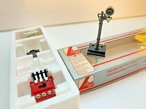 LIMA 600022 - H0 1:87, Kit Semaforo FS con pulsantiera e binario sezionato NUOVO