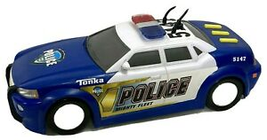 TONKA RESCUE POLICE BLUE COLOR LIGHT AND SOUND  FUNRISE  HASBRO 2011