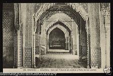 1126.-GRANADA -125 Alhambra -Sala del Tribunal de Justicia y Patio de los Leones