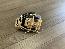 "New listing New Wilson A2000 1786 11.5"" I Web Baseball Glove Black Camel"