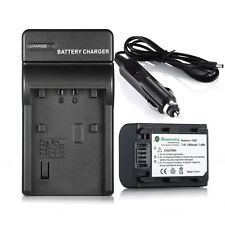 1000mAh NP-FH50 Battery+ Charger For Sony NP-FH40 ALPHA A230 A290 A330 A380 A390