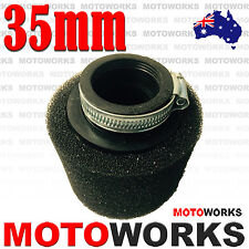 35mm Foam Air Filter Cleaner 90cc 125cc 150cc BIGFOOT Dirt PIT TRAIL Bike Pit