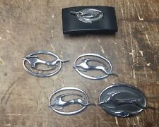 Chevy Impala Car Badge Emblems Lot Of 5
