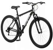 """New Men's 29"""" Mongoose Excursion Mountain Bike Black & White Free Shipping"""
