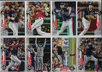 2020 Topps Series 1 Washington Nationals Team Set (16 Cards) World Series Soto