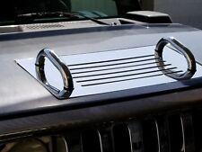 Stainless Steel Hood Insert For HUMMER H2 SUV & SUT