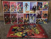 Disney Marvel Vintage 90s X-Men V-Day Cards 90s 15 cards w/ box Marked 1995