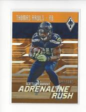 2016 Panini Phoenix Adrenaline Rush Orange #ARTR Thomas Rawls Seahawks /299