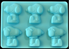 Snoopy Dog Charlie Brown Silicone Mould Cake Cartoon Chocolate Mold Mooncake