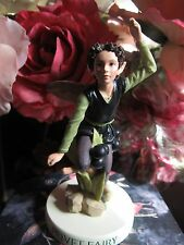RETIRED! Cicely Mary Barker PRIVET FAIRY Flower Fairy Figurine On Base NIB