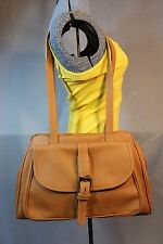 Francesco  Biasia Made in Italy 100% Genuine Leather Lt. Brown Shoulder Purse