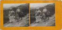 Algeria Vallée Da Tighremt Foto Orientalist Stereo Vintage Analogica c1900