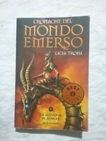 CRONACHE DEL MONDO EMERSO II LA MISSIONE DI SENNAR - OSCAR MONDADORI LIBRO
