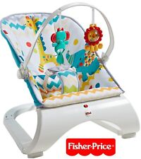 NEW Fisher-Price Colourful Carnival Comfort Curve Bouncer Baby/Boy/Girl/Child/AU