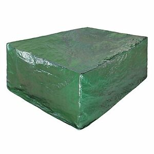 Green Garden Large Rectangle Outdoor Table Furniture Cover