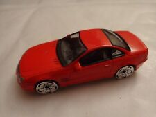 1/59 REALTOY CLASSIC - MERCEDES BENZ SL COUPE RED DIECAST CAR