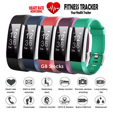Fitness Smart Watch Activity Tracker Women Men Kids Android iOS  Fitbit Style