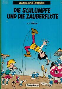 Johann und Pfiffikus - Die Schlümpfe und die Zauberflöte - Bd. 1 - 1979 - gebr.